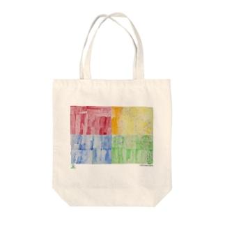 天才アートKYOTO_足立茉莉_2−2 Tote bags