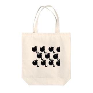 ネコみたいなオタマジャクシ Tote bags