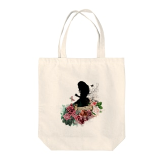 WELCOME TO WONDERLAND Alice ver. Tote bags