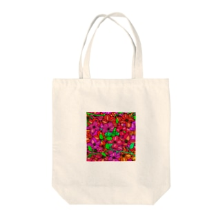 Flower Lips Tote bags