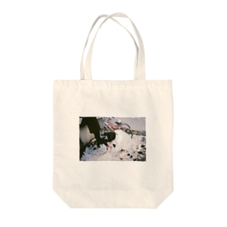 いちご狩り Tote bags