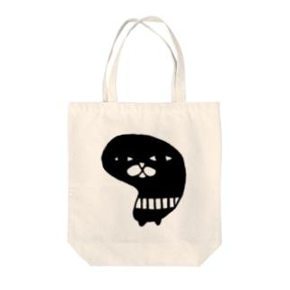 シラトリサン Tote bags