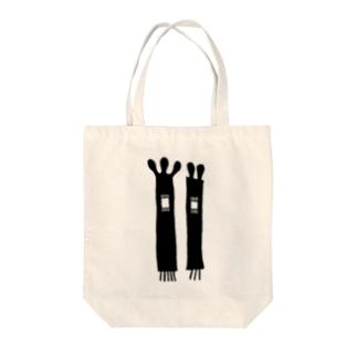 サワキ Tote bags