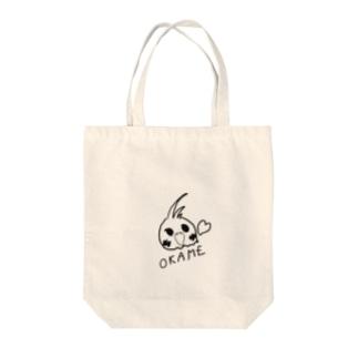 オカメインコ Tote bags
