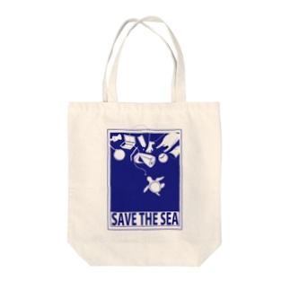 SAVE THE SEA Tote Bag