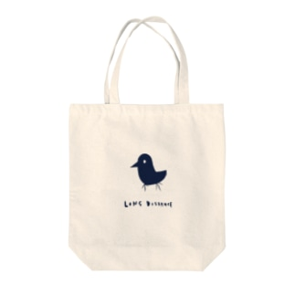 long distance (bird) Tote bags