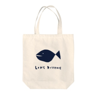 long distance(fish) Tote bags