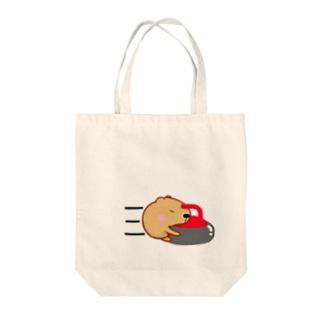 きゃぴばら【カーリング】 Tote bags