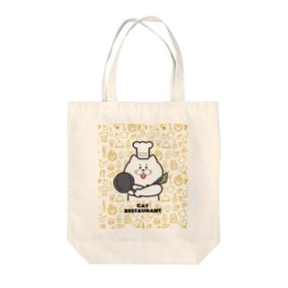 ネコ店長 Tote bags
