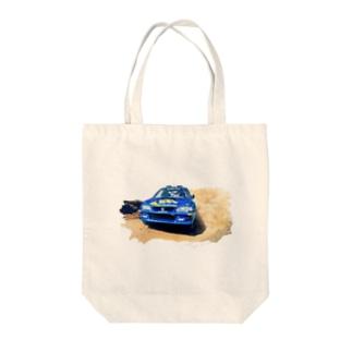 1998年スバルインプレッサ555WRC  Tote bags