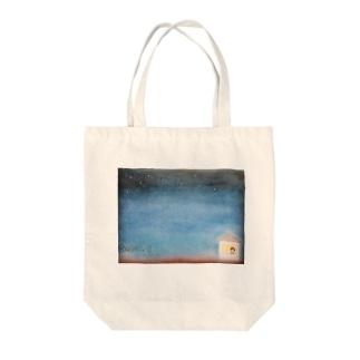 ヨゾラ Tote bags