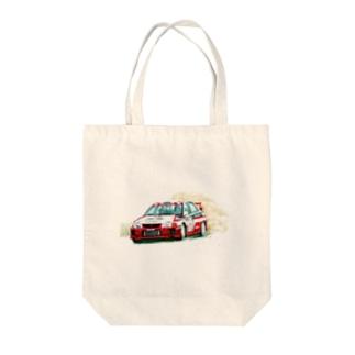 1998年三菱ランサーエボリューションⅤ GroupA Tote bags