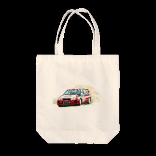 marsの1998年三菱ランサーエボリューションⅤ GroupA Tote bags