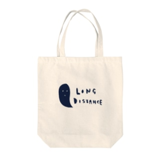 long distance (ghost) Tote bags