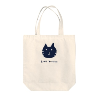 long distance(cat) Tote bags