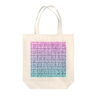 Mojibake(Seapunk mix) Tote bags