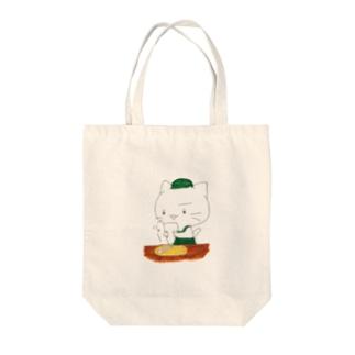 とらねこカフェ Tote bags