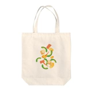 ごーやちゃんぷるー Tote bags