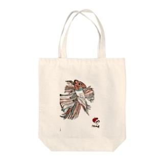 ベタ Tote bags