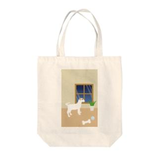 パーソン・ラッセル・テリア Tote bags