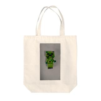 Minecraft風 Tote bags