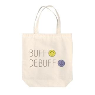 GAME-バフ&デバフ Tote bags