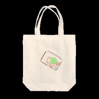 natsuki.*・゚のかめさんとであったひ Tote bags