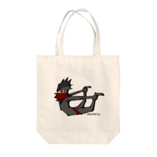 ニンジャスタ-反り体- Tote bags
