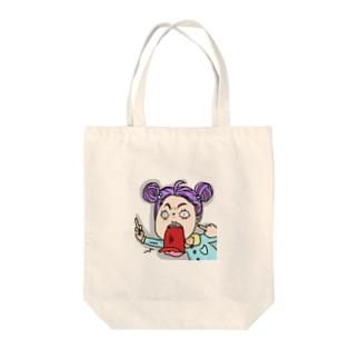 ふぁっきん園児 Tote bags