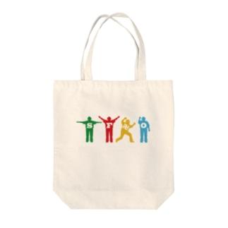 「ザ・審判ズ」 Tote bags