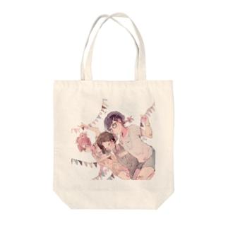 メガネッコ02 Tote bags