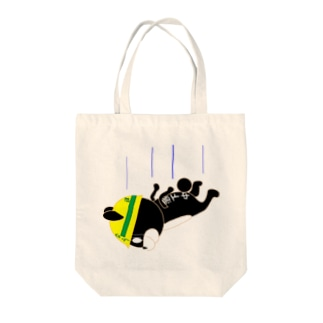 なうくま(落下中) Tote bags