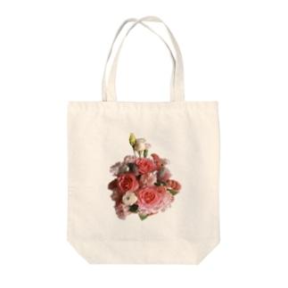 ブーケのある生活 -summer- Tote bags