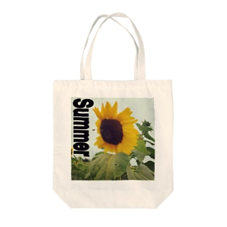 Summer ヒマワリ Vacation Tote bags