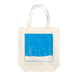 ぷくぷくアクアリウム Tote bags