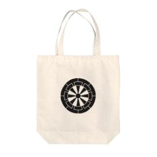 佐藤家家紋「源氏車」 Tote bags