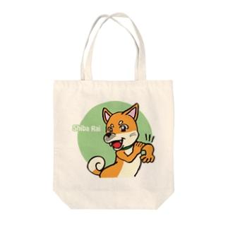 柴犬ライ Tote bags