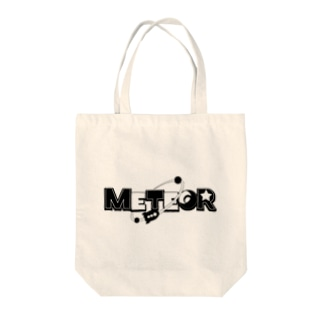 METEORロゴトートバッグ(モノクロVer.) Tote bags