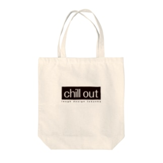chill out Tote bags