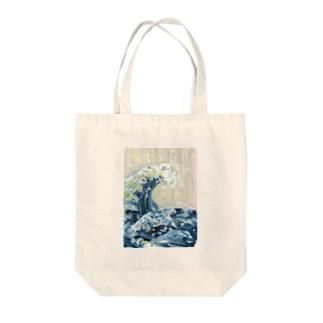 浮世絵 葛飾北斎 Tote bags