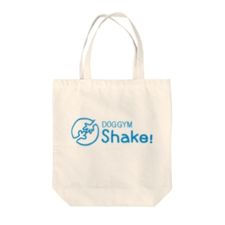 【DOGGYM Shake!】 シンプルロゴ Tote bags