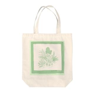 観葉植物 Tote bags