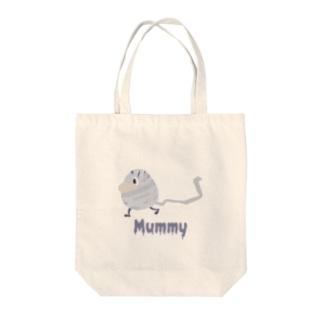 ぐるぐるミイラ Mummy Tote bags