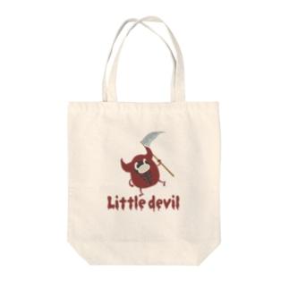 小悪魔さん Little devil Tote bags