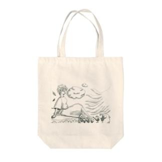 神話寓話 Tote bags