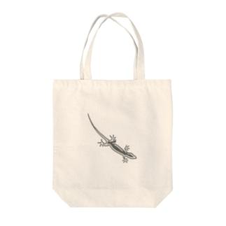 ヤモリさんA Tote bags