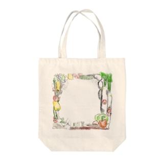野菜祭祭 Tote bags