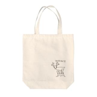 びっくりSHIKA Tote Bag