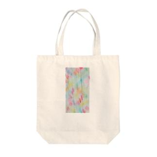水色ぷりーつ/カヨサトーTX Tote bags