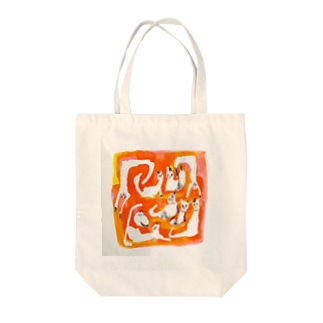 ニャンコまつり Tote bags